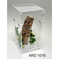 ARD 1016 ARBOREAL 7.5 GALLON ACRYLIC CAGE WITH DOOR TARANTULA, REPTILES, TREE CLIMBING