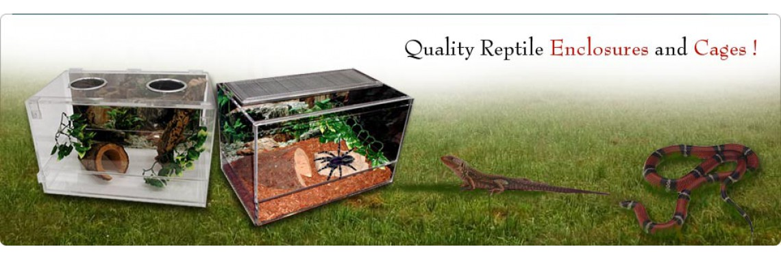Reptile Enclosures Plastic Cages