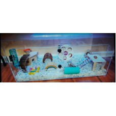 THE BEST HAMSTER CAGE EVER 2  FREE SHIPPING
